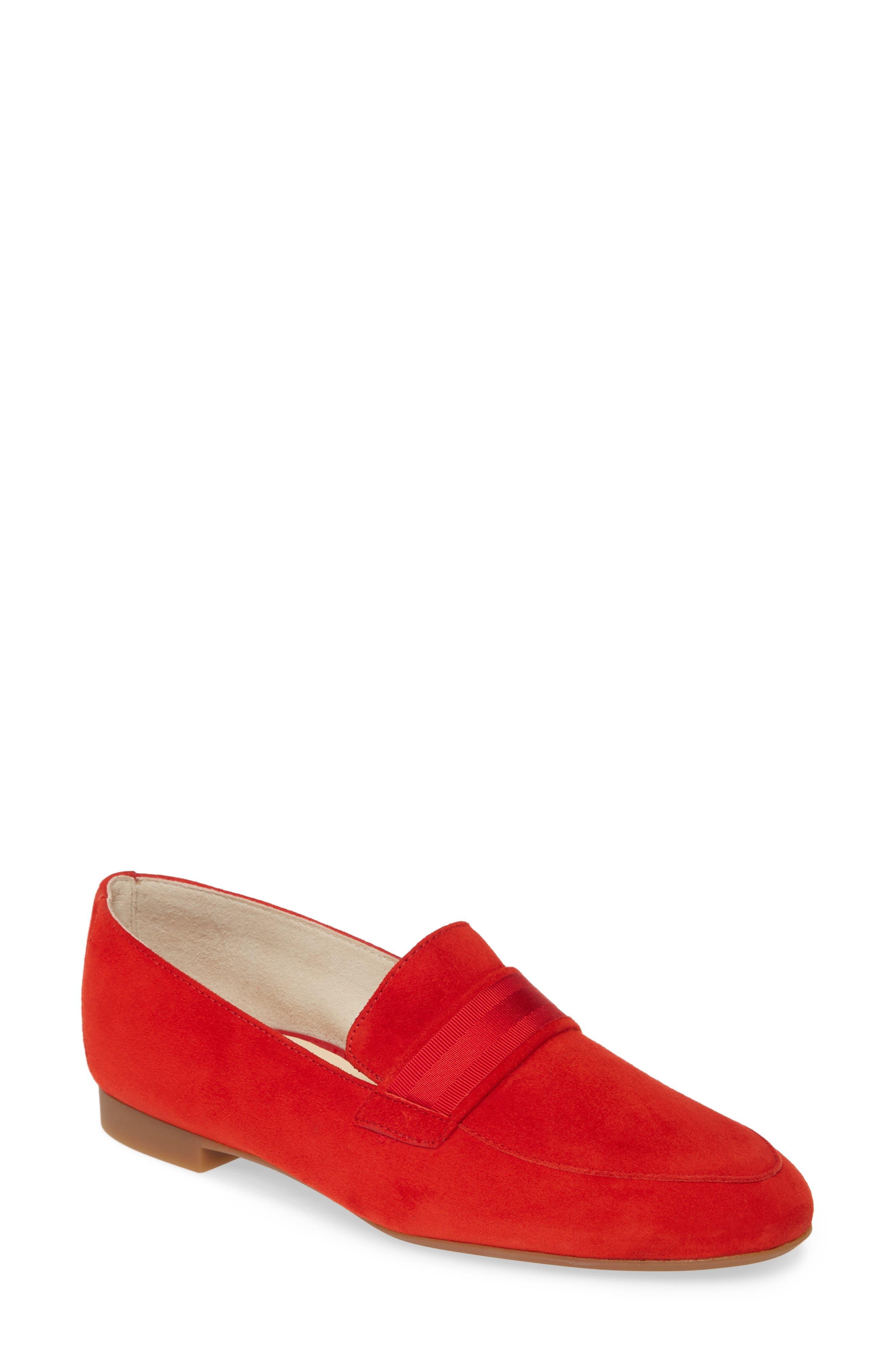 Paul Green Adelle Loafer, US/ 5.5UK - Red