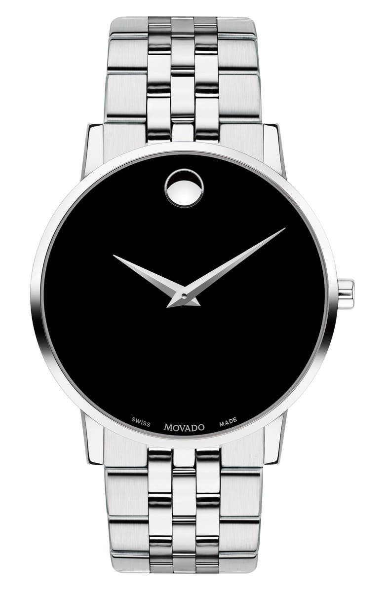 MOVADO Bracelet Watch, 40mm, Main, color, 040