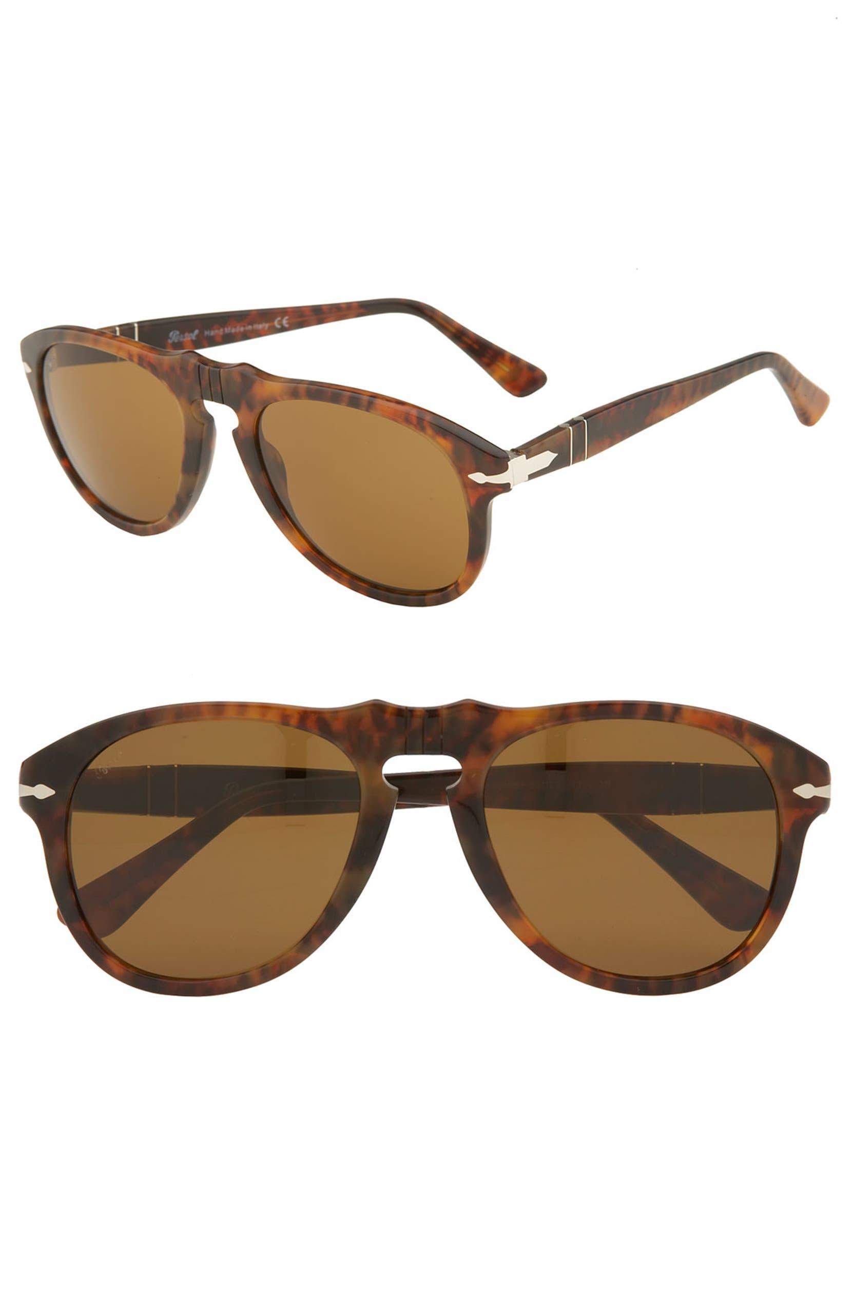 40859e29c12f Persol '649' Retro 52mm Keyhole Sunglasses | Nordstrom