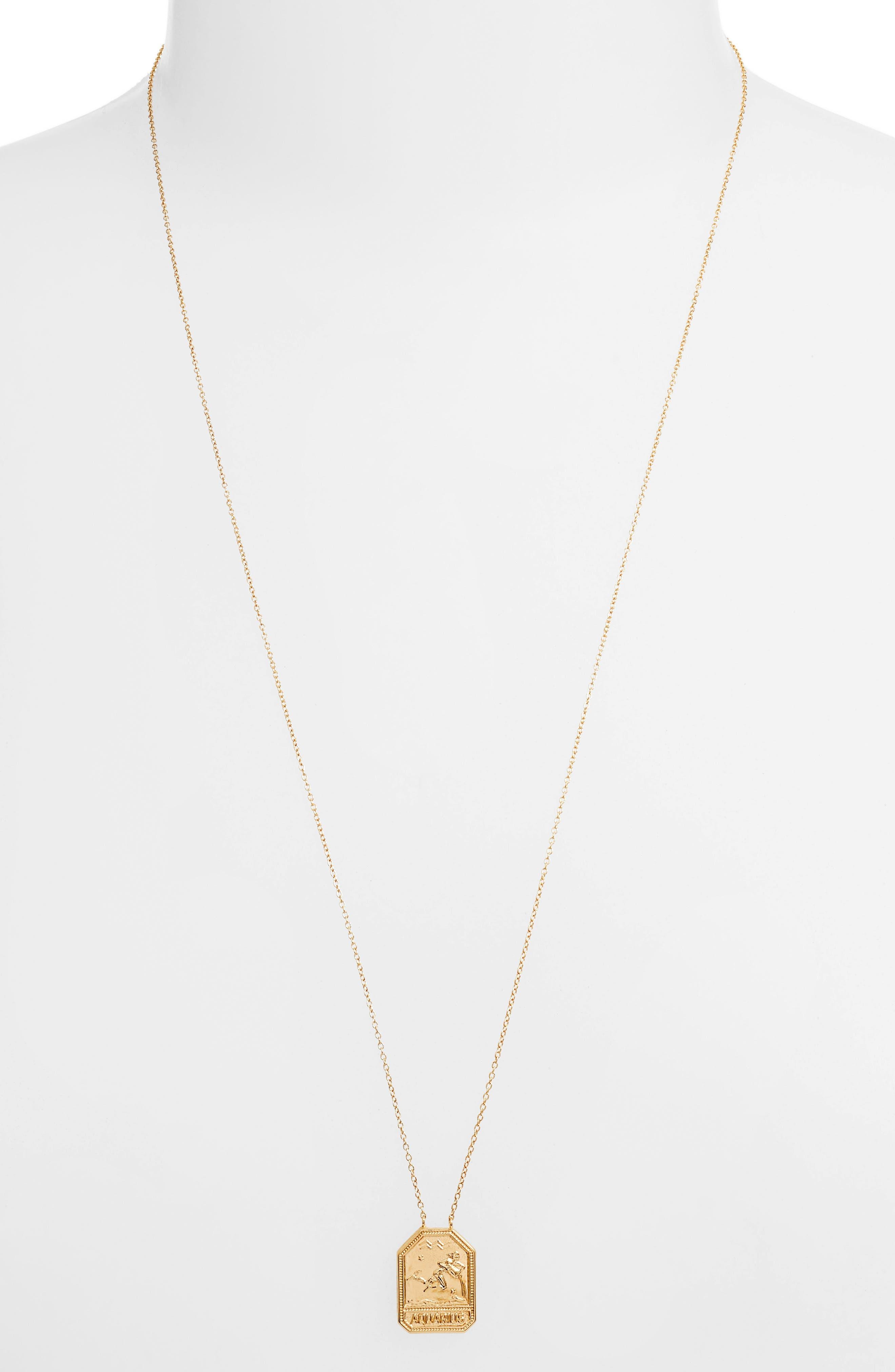 0d032fe0c Jennifer Zeuner Jewelry Kiana Zodiac Pendant Necklace
