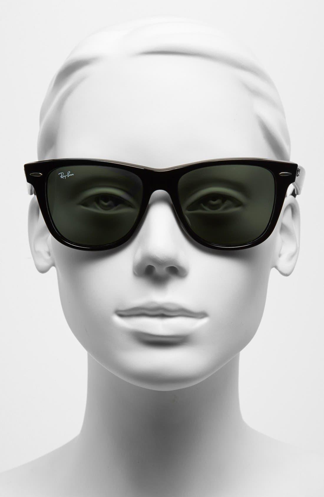 ,                             Large Classic Wayfarer 54mm Sunglasses,                             Alternate thumbnail 2, color,                             001