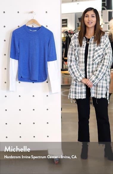 Roscoe Mixed Media Sweater, sales video thumbnail