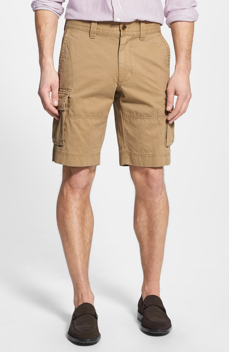 NORDSTROM Cotton Twill Cargo Shorts, Main, color, 238