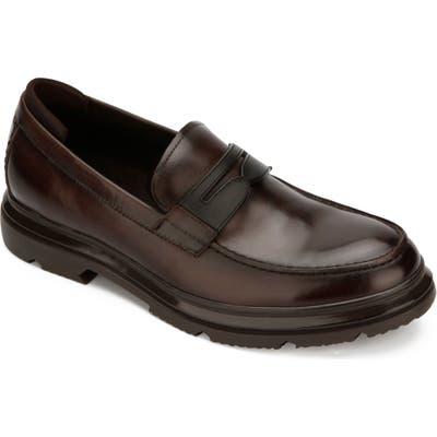 Kenneth Cole New York Carter Penny Loafer, Brown