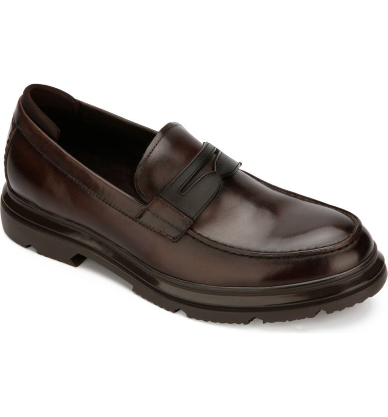 KENNETH COLE NEW YORK Carter Penny Loafer, Main, color, BROWN