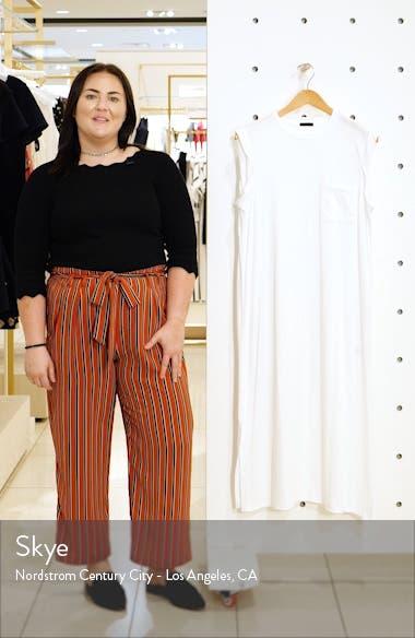 High Torsion Cotton Dress, sales video thumbnail