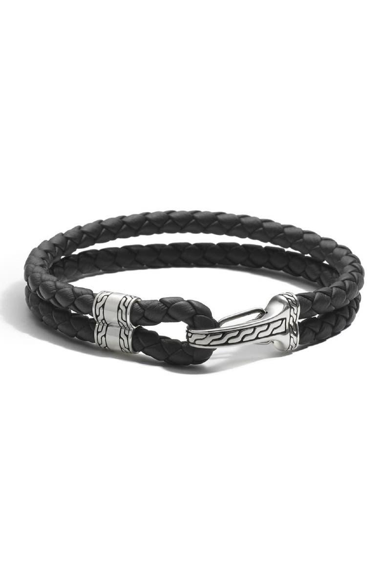 JOHN HARDY Men's Classic Chain Station Bracelet, Main, color, SILVER MULTI