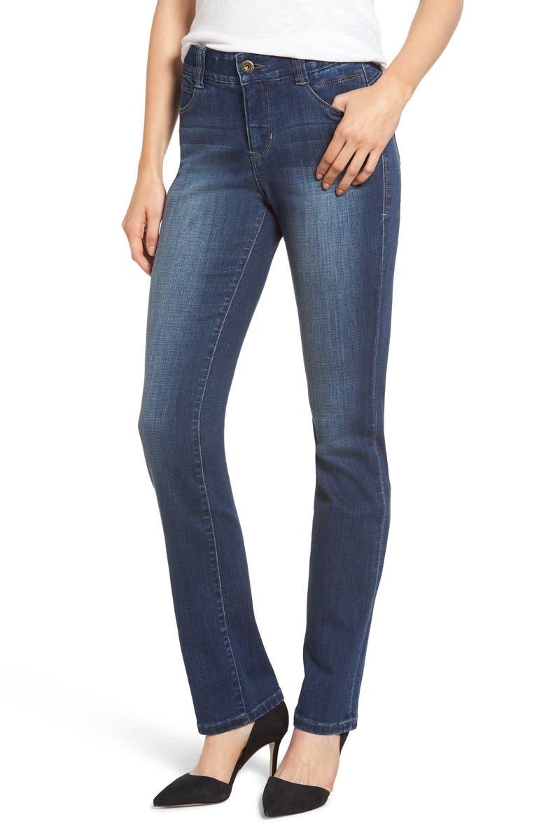 dc3a8e66 Ruby Straight Leg Jeans, Main, color, MED INDIGO