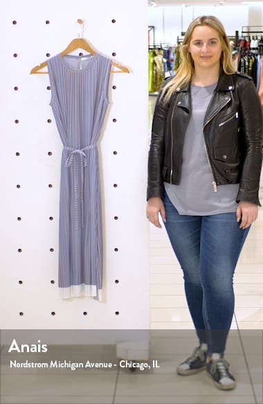 Enadira Sleeveless Tie Waist Dress, sales video thumbnail