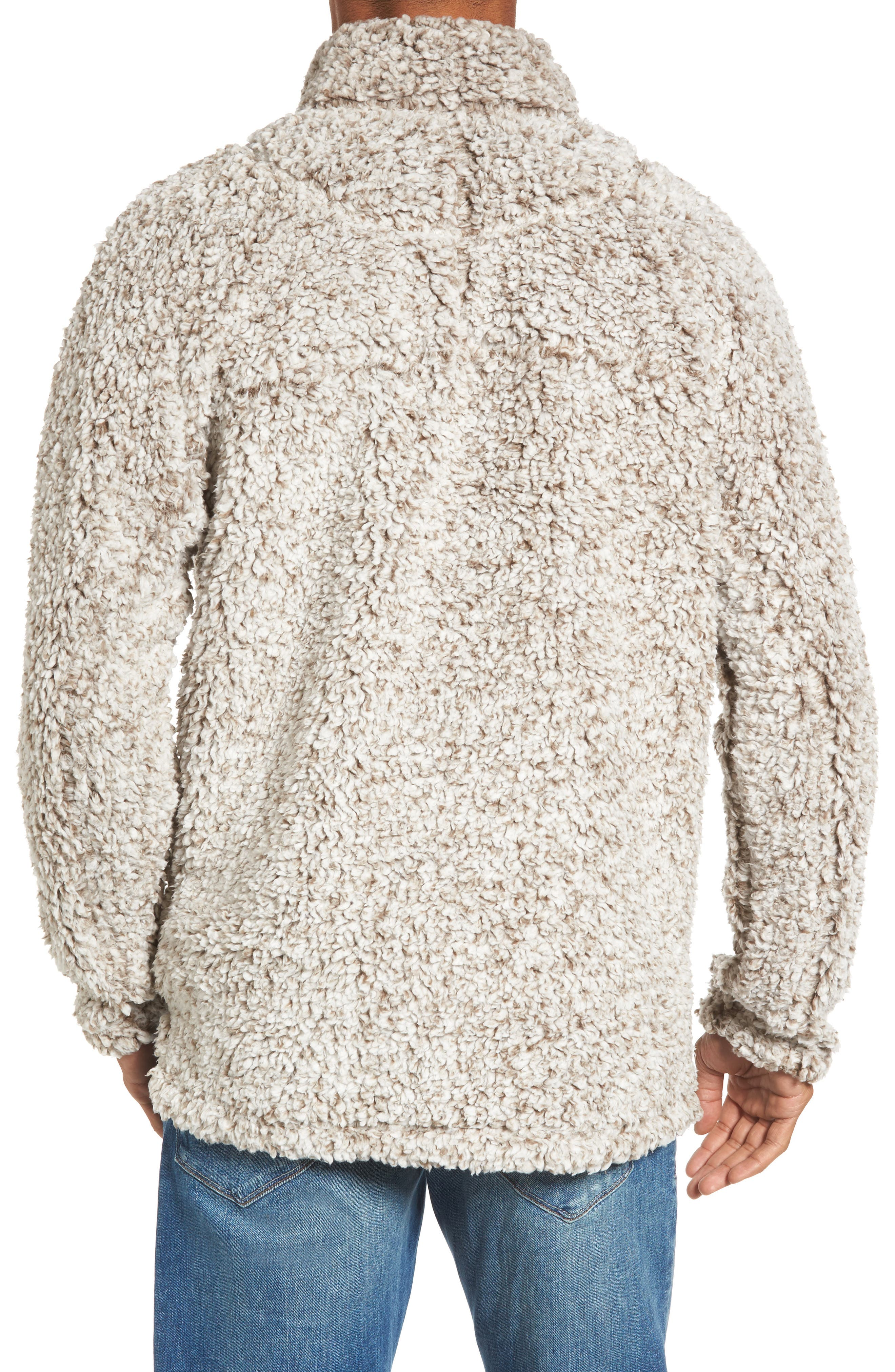 ,                             Frosty Tipped Quarter Zip Pullover,                             Alternate thumbnail 9, color,                             200