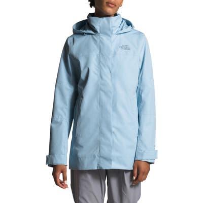 The North Face Westoak City Waterproof & Windproof Coat, Blue