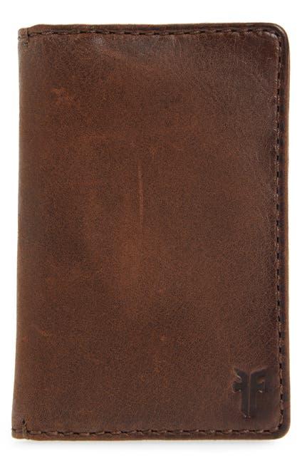 Image of Frye Oliver Leather Bi-Fold Wallet