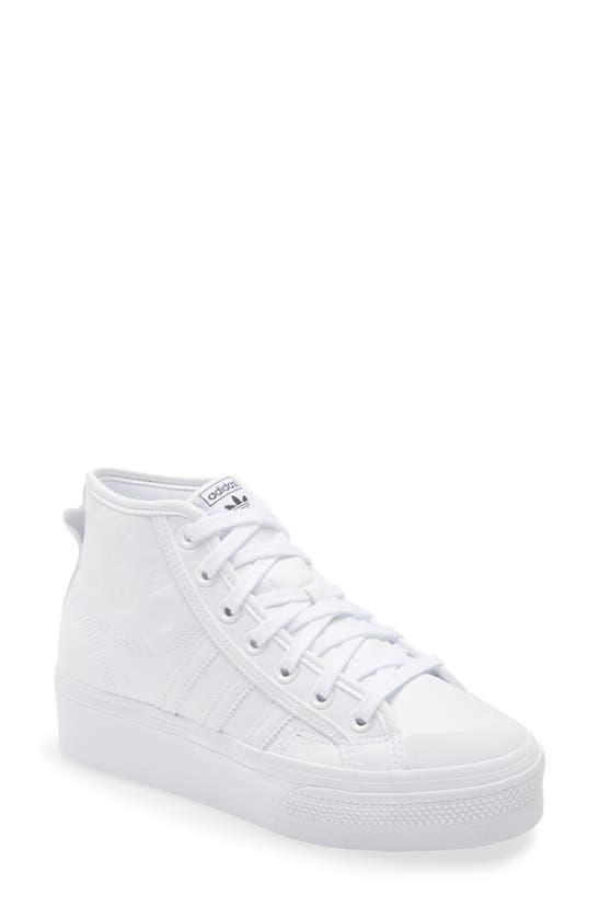 Adidas Originals Platforms NIZZA MID TOP PLATFORM SNEAKER