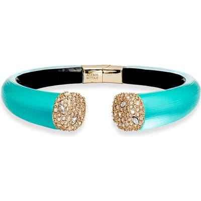 Alexis Bittar Pave Lucite Hinge Bracelet
