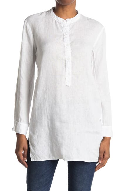 Image of Stateside Linen Button Up Tunic