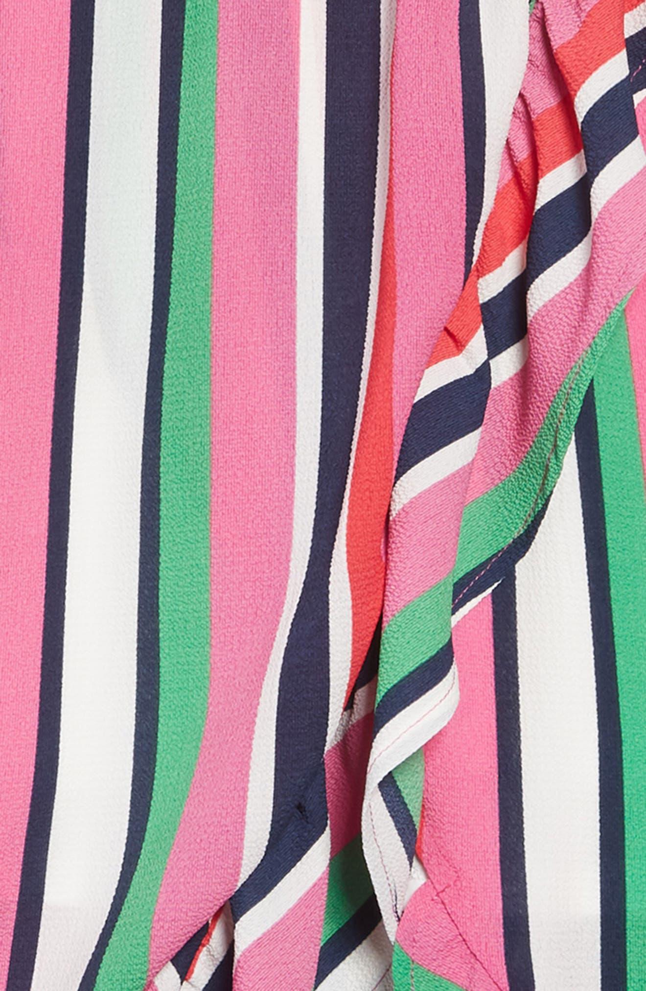 ,                             Stripe Maxi Dress,                             Alternate thumbnail 3, color,                             PINK MULTI