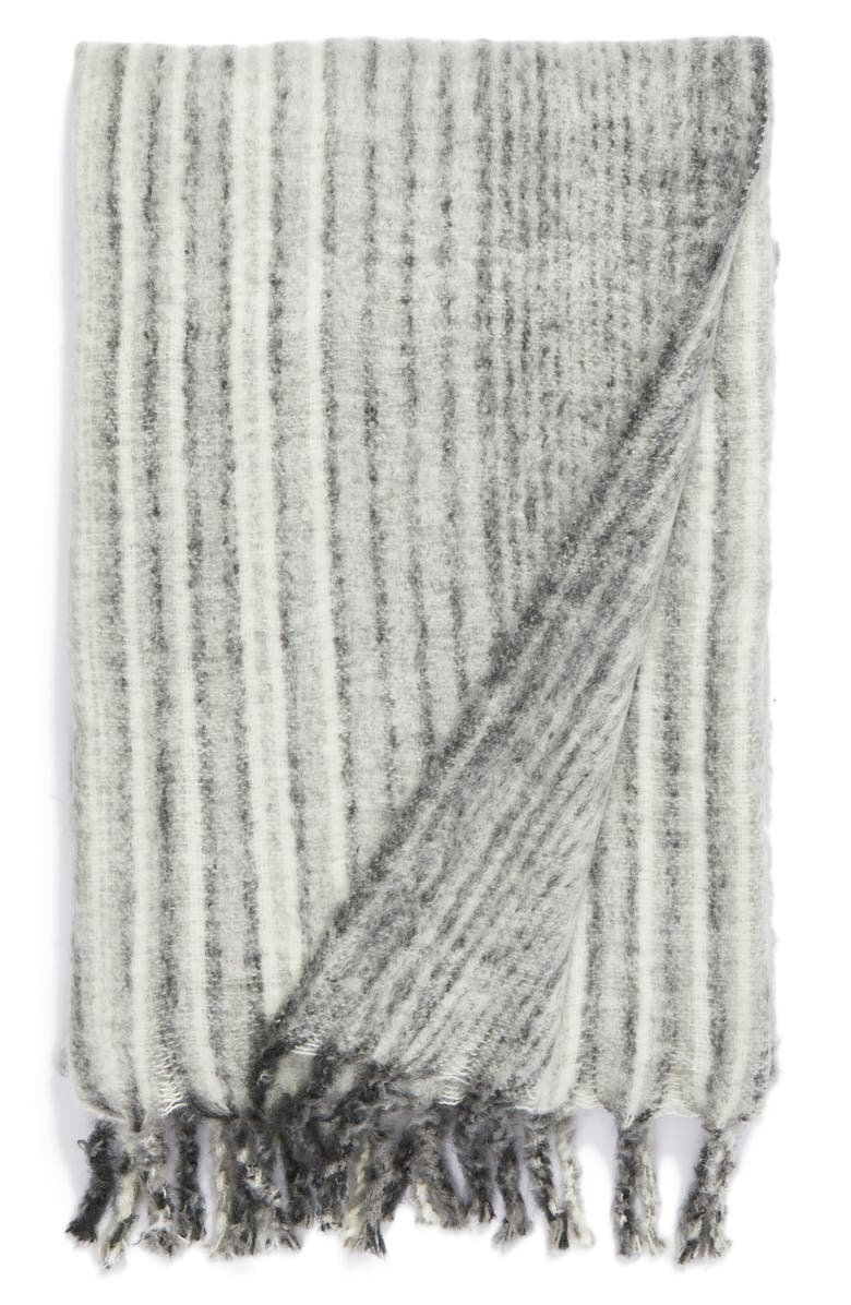 NORDSTROM at Home Brushed Ombré Throw Blanket, Main, color, 020