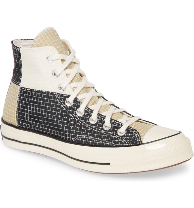 CONVERSE Chuck 70 Quad Sneaker, Main, color, BLACK/ EGRET/ OYSER GRAY