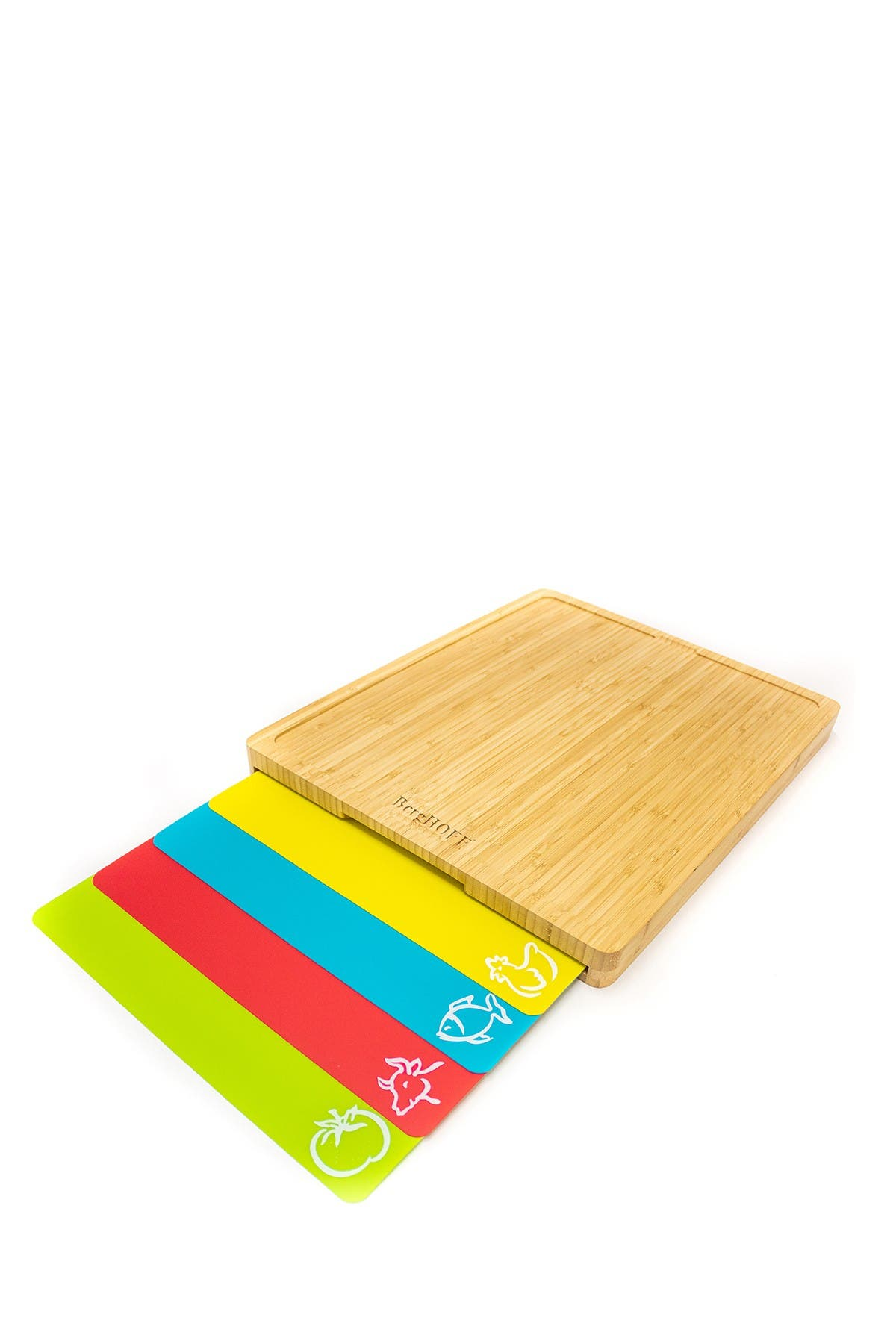 Image of BergHOFF Bamboo 5-Piece Cutting Board Set