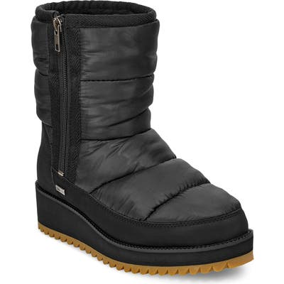 UGG Ridge Waterproof Boot- Black