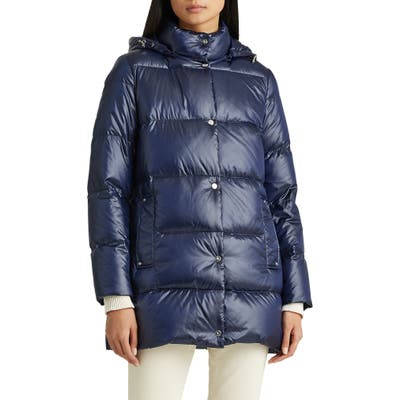 Lauren Ralph Lauren Packable Puffer Jacket, Blue