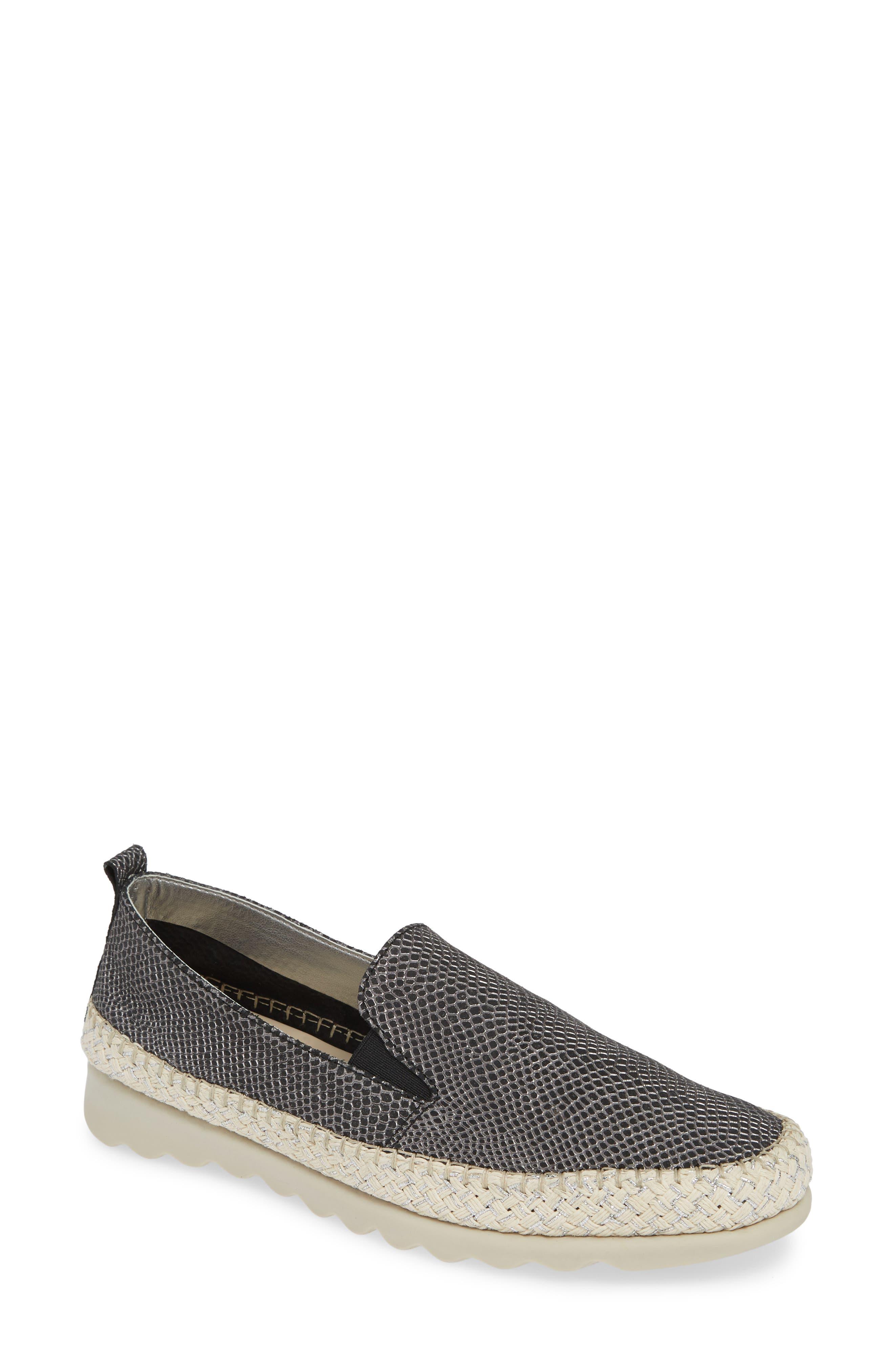 The Flexx Chappie Slip-On Sneaker- Black