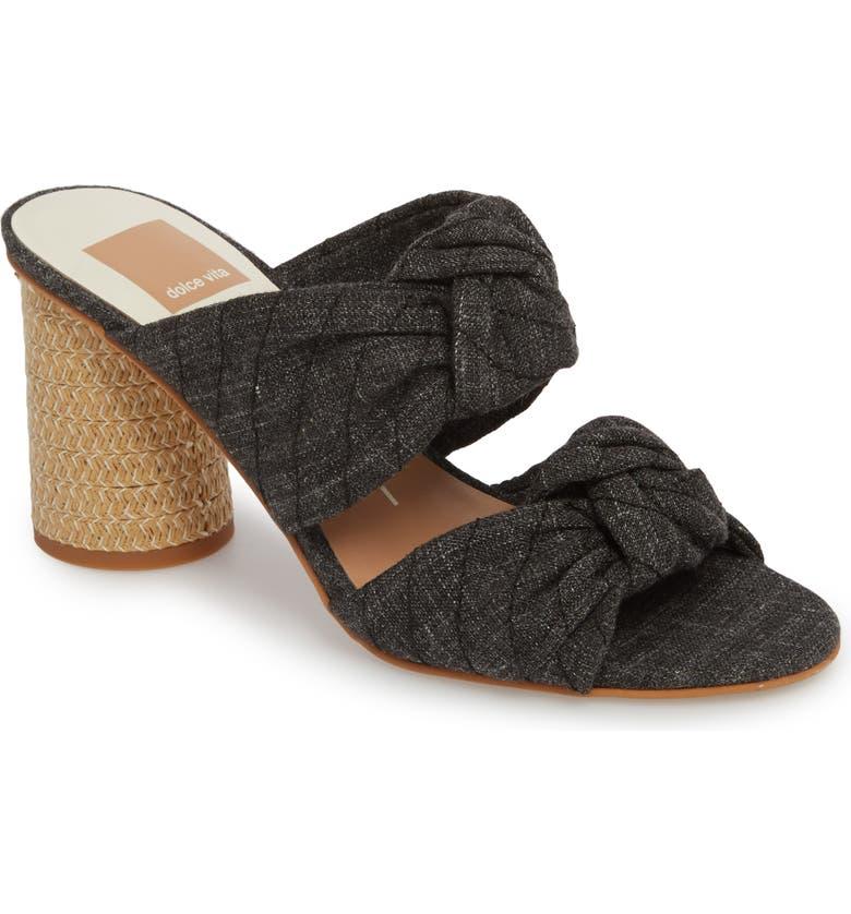 DOLCE VITA Jene Double Knot Sandal, Main, color, 001