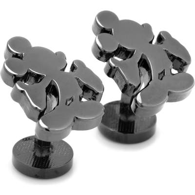 Cufflinks, Inc. Mickey Mouse Silhouette Cuff Links