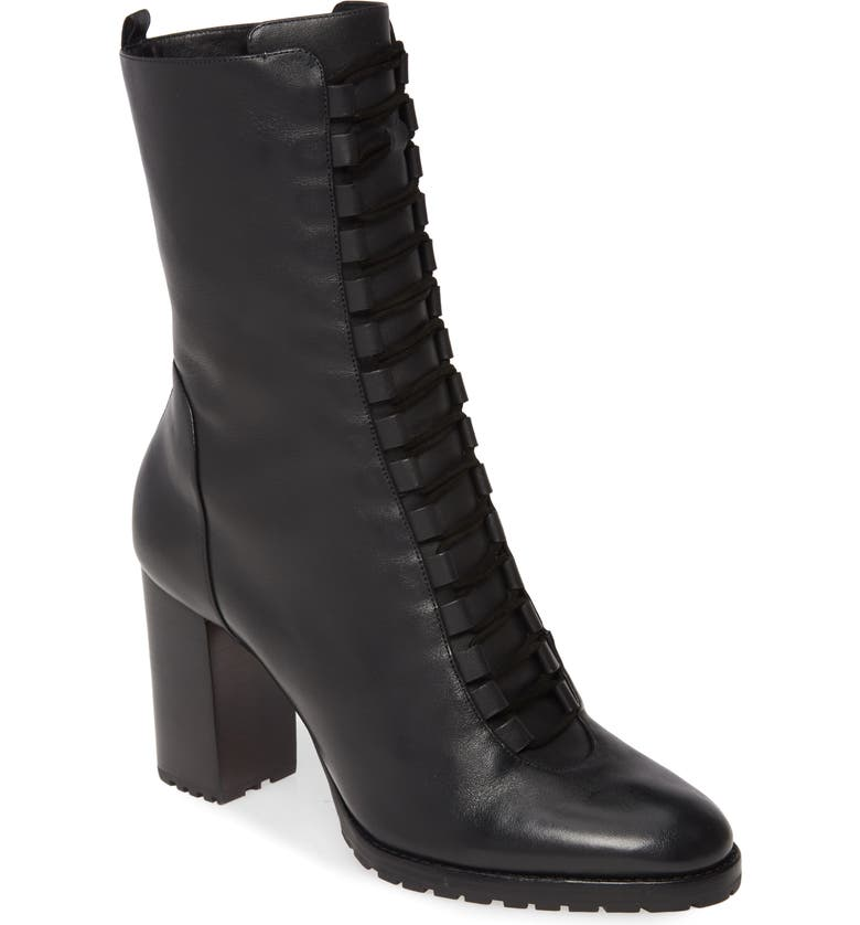 ALEXANDRE BIRMAN New Combat Bootie, Main, color, BLACK