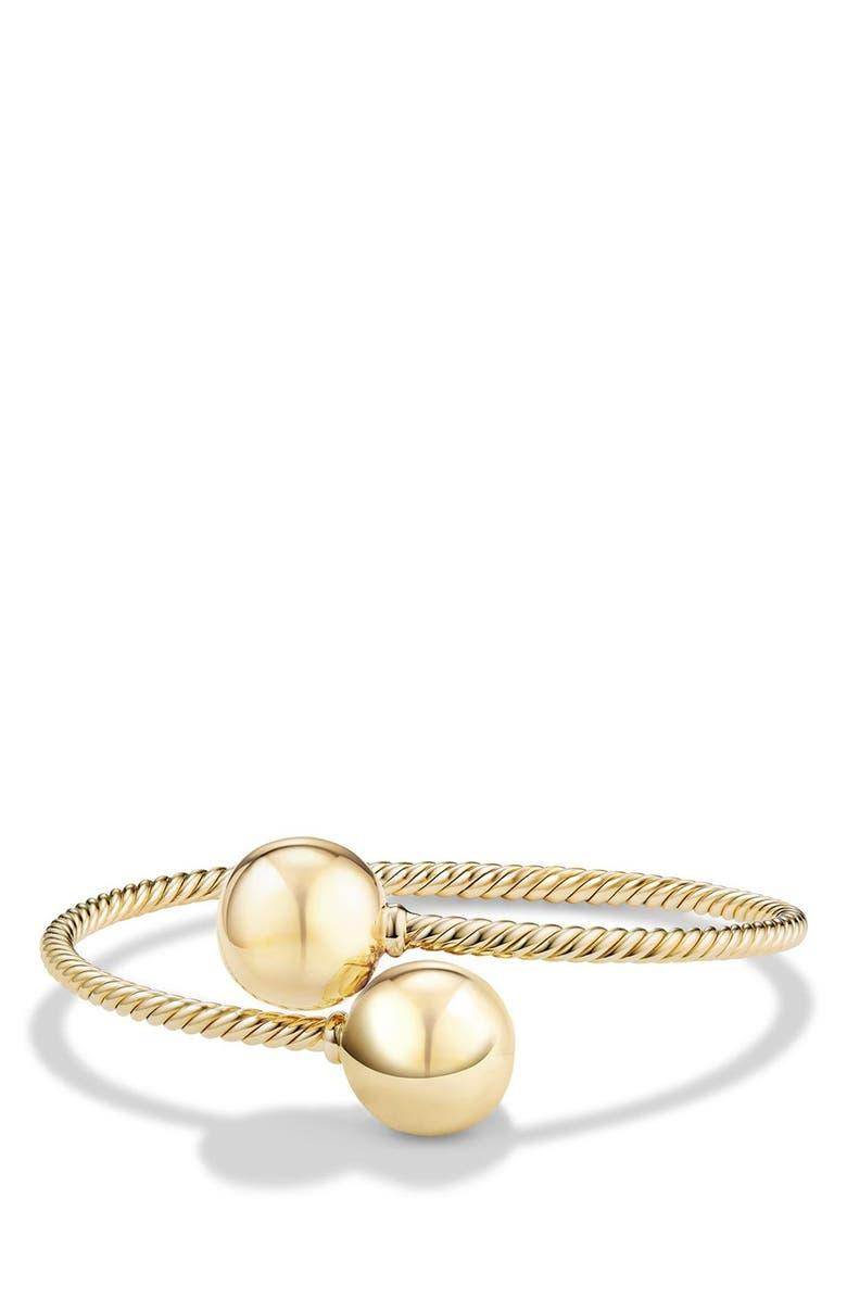 David Yurman Solari Bypass Bracelet In 18K Gold