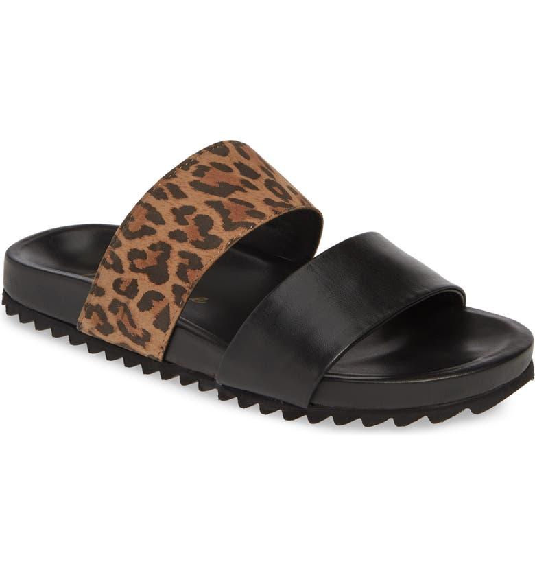 MATISSE Huntley Sandal, Main, color, BLACK