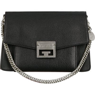 Givenchy Small Gv3 Leather Crossbody Bag - Black
