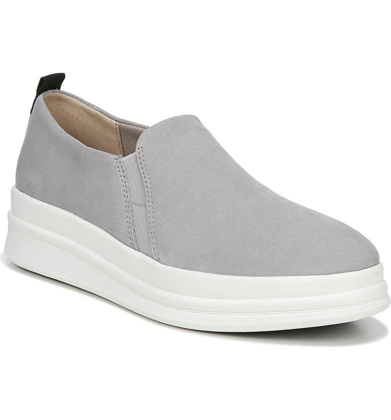 NATURALIZER Yola Slip-On Sneaker, Main, color, ICY GREY SUEDE