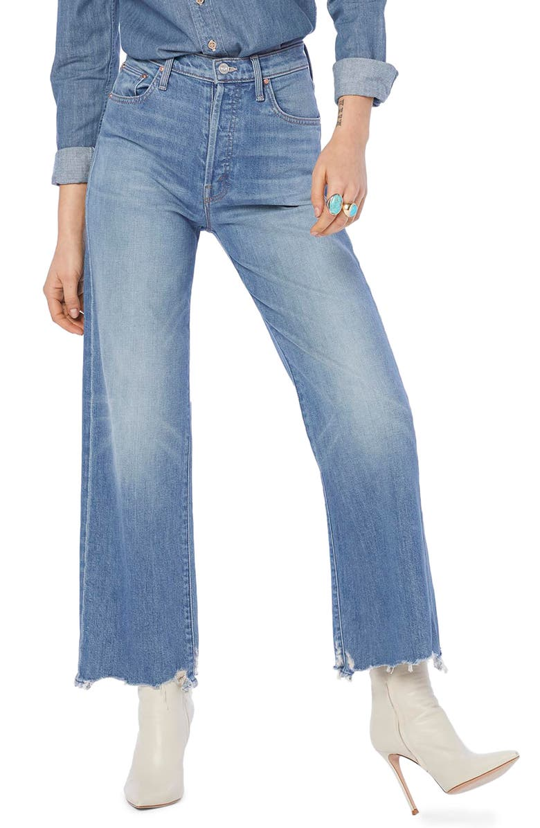 MOTHER Rambler Ankle Jeans, Main, color, 420