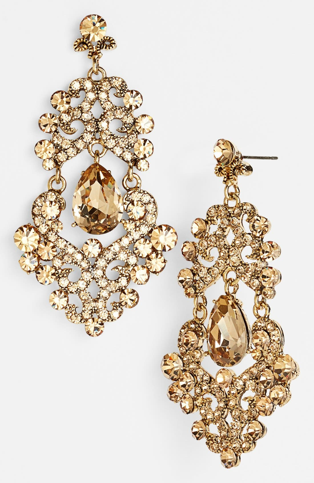 ,                             Ornate Chandelier Earrings,                             Main thumbnail 24, color,                             711