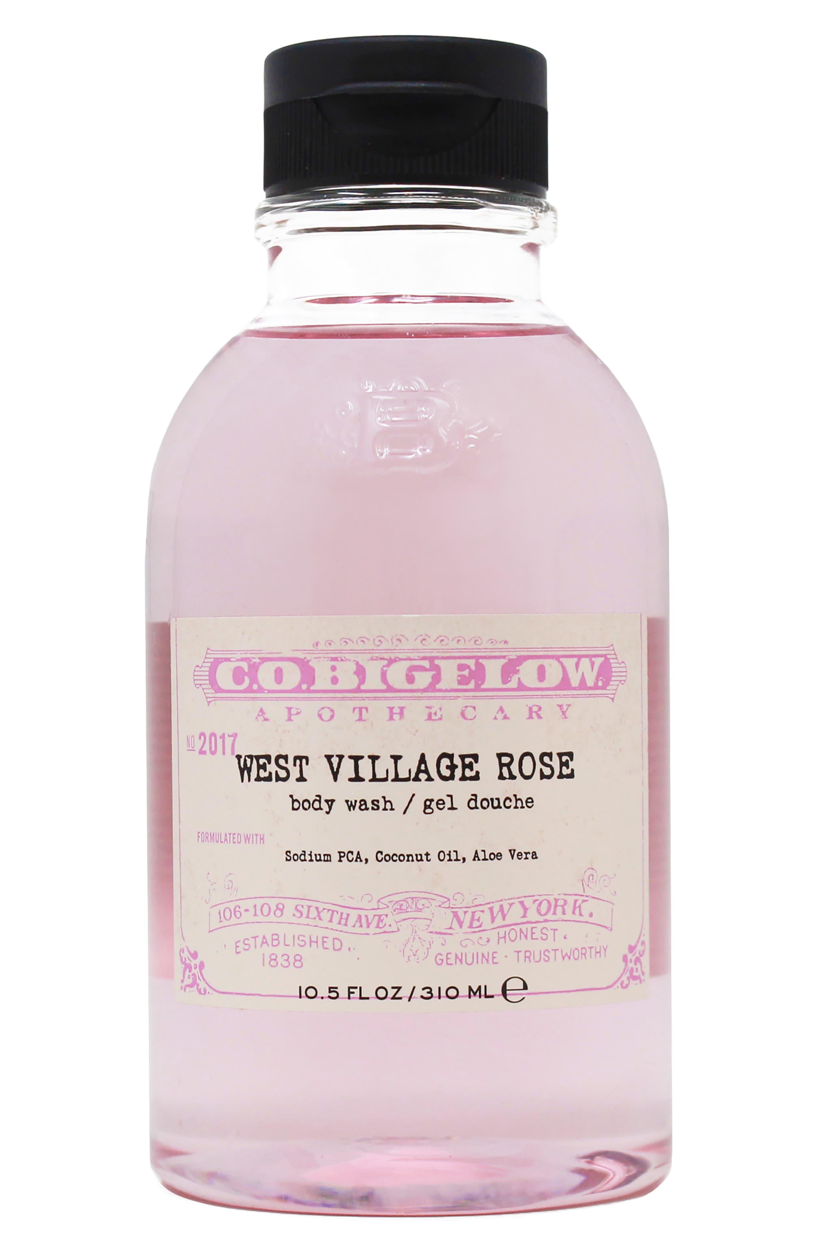 West Village Rose Body Wash