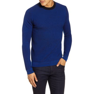 Ted Baker London Uno Slim Fit Wool Sweater, Blue