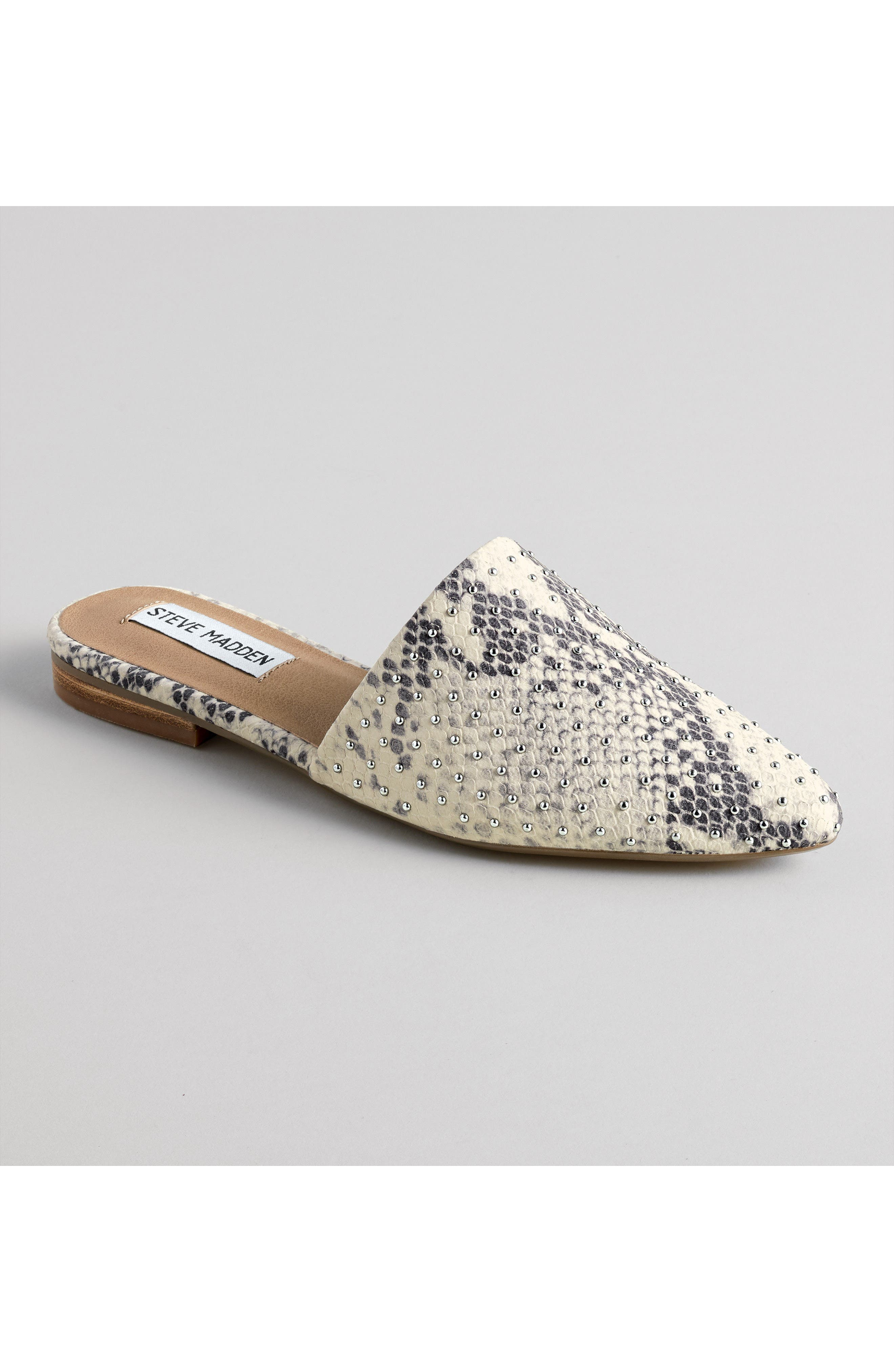 ,                             Trace Studded Mule,                             Alternate thumbnail 7, color,                             250