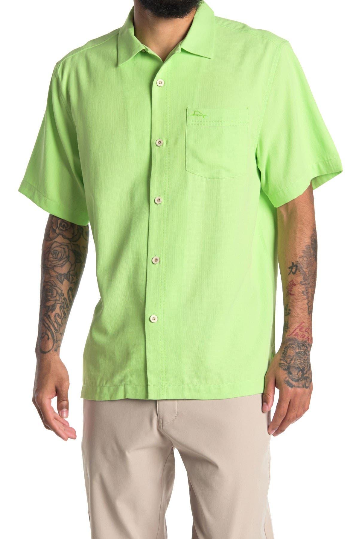 Image of Tommy Bahama Royal Bermuda Short Sleeve Regular Fit Shirt