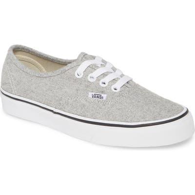 Vans Authentic Herringbone Sneaker, Grey