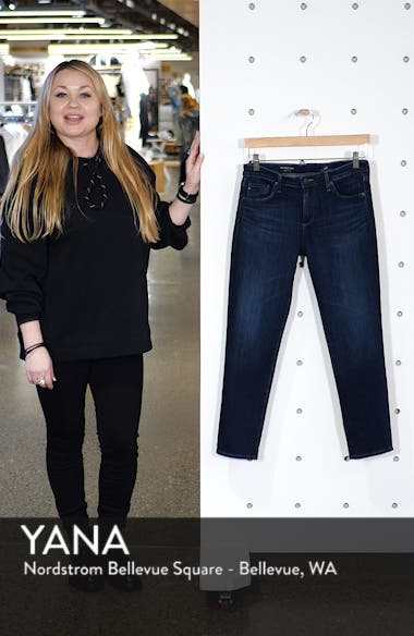 The Prima Mid Rise Crop Cigarette Jeans, sales video thumbnail