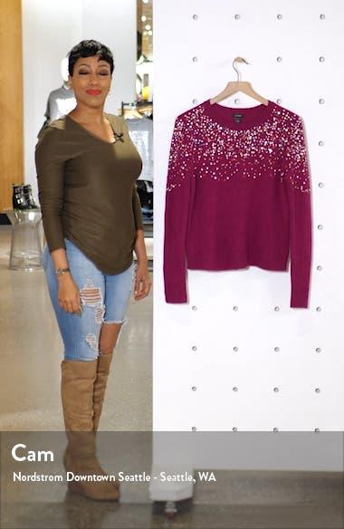 Multicolor Sequin Sweater, sales video thumbnail