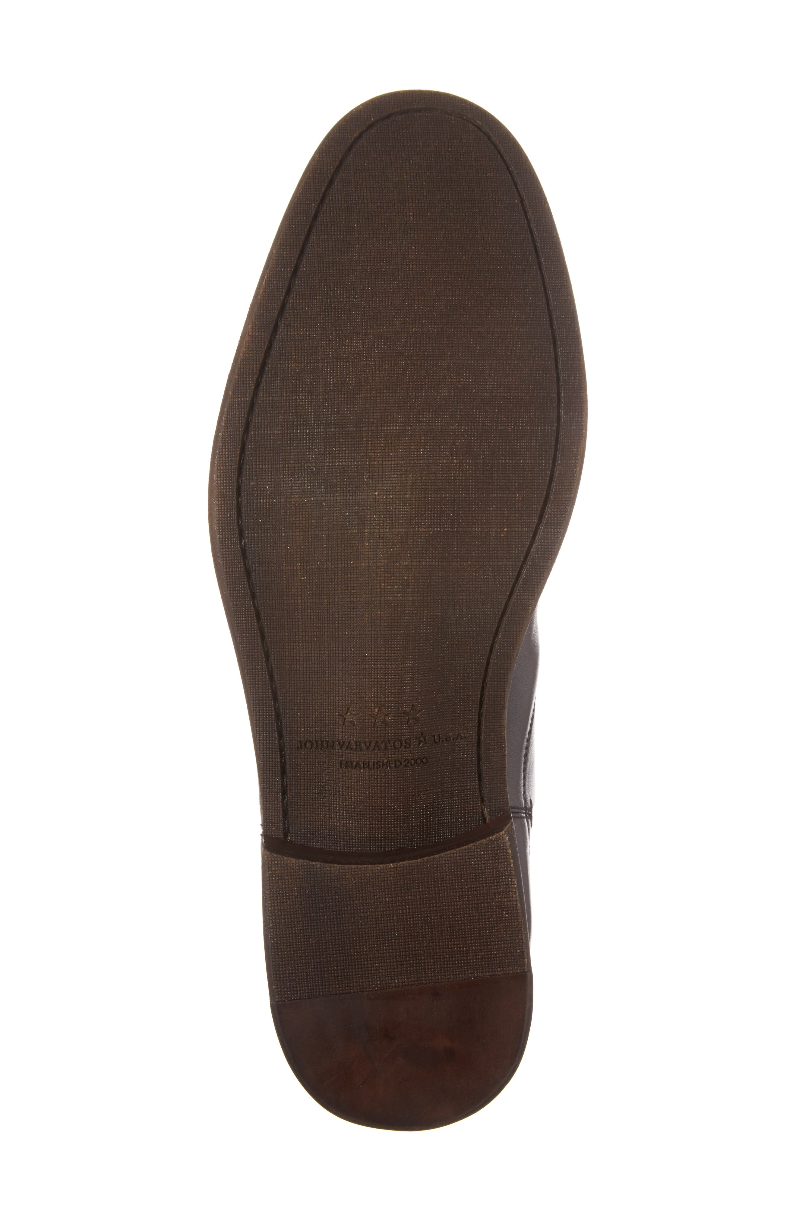 ,                             Waverley Chelsea Boot,                             Alternate thumbnail 6, color,                             BLACK LEATHER