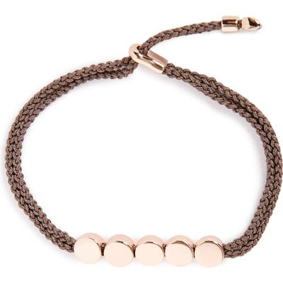 Monica Vinader Engravable Linear Bead Friendship Bracelet