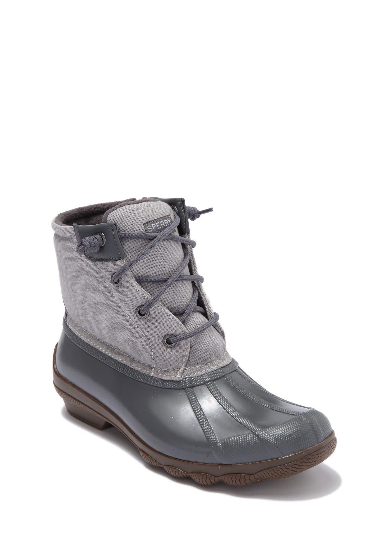 Syren Metallic Canvas Duck Boot