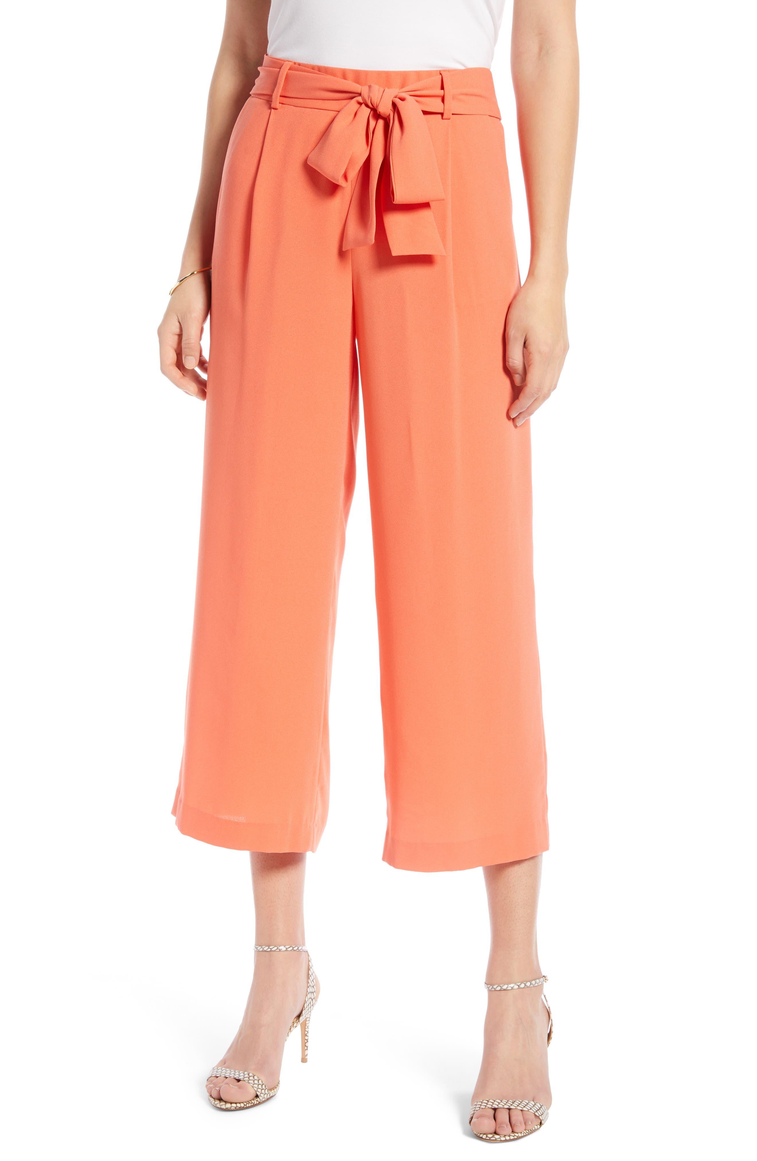 ,                             Wide Leg Crop Pants,                             Main thumbnail 83, color,                             830