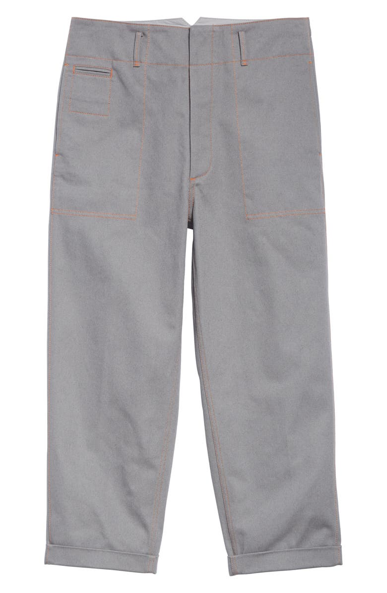 MARNI Drill Pants, Main, color, GREY