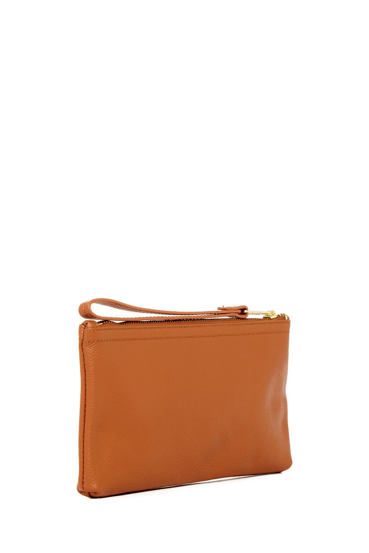 Image of Herschel Supply Co. Casey Leather Zip Wrist Pouch