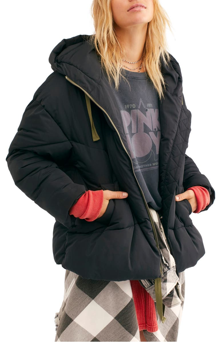 Hailey Hooded Puffer Jacket by Free People
