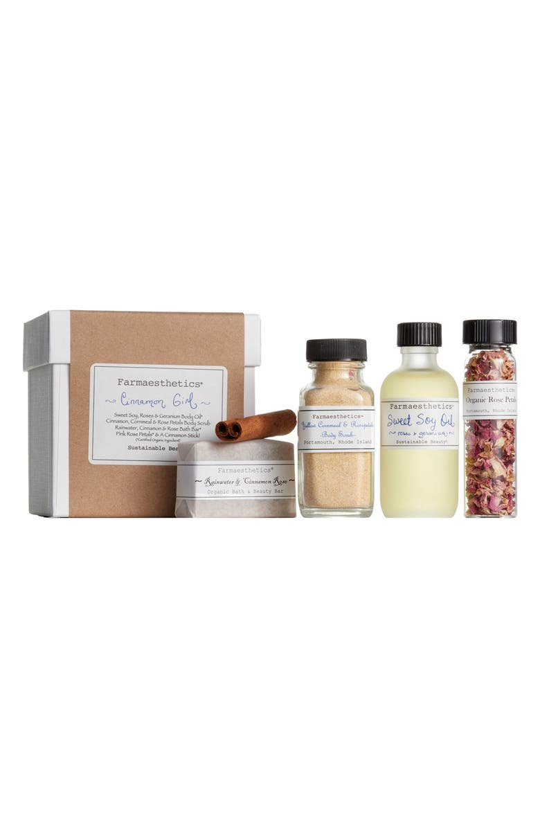FARMAESTHETICS Cinnamon Girl Bath & Body Set, Main, color, NO COLOR